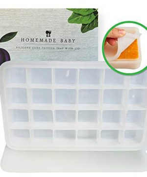 Homemade Baby Silicone Baby Food Freezer Tray