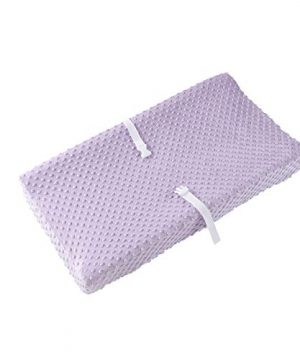 Baby Changing Pad Cover, Super Soft Minky Dot Diaper