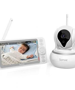 Baby Monitor with Camera and Audio Samxic 720P
