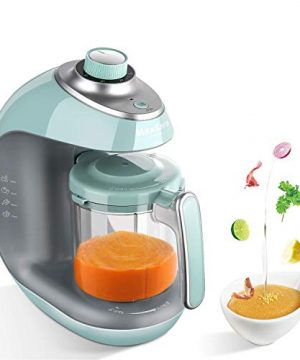 Baby Food Maker 8 in 1 Meal Station for Toddlers with Steam, Blend, Juice