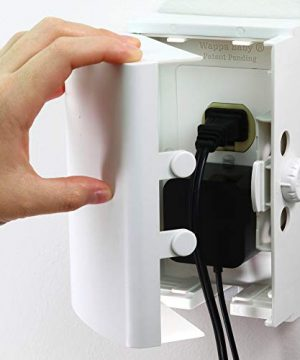 Baby Safety Outlet Cover BOX Double Lock
