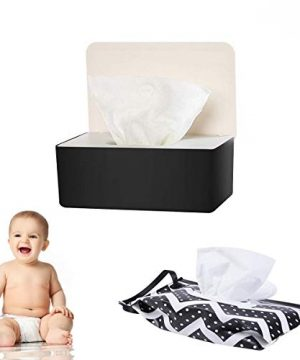 Baby Wipe Holder, Flushable Wipes Dispenser Baby Reusable Wipes Container