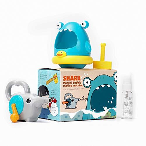Lightaling Shark Bath Bubble Toys for Toddler