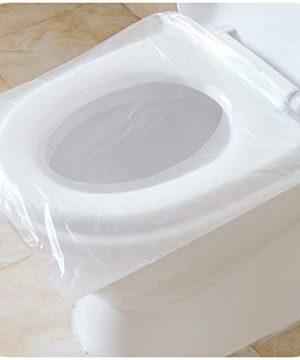 Disposable Toilet Seat Covers,Tezam 50 Packs Waterproof