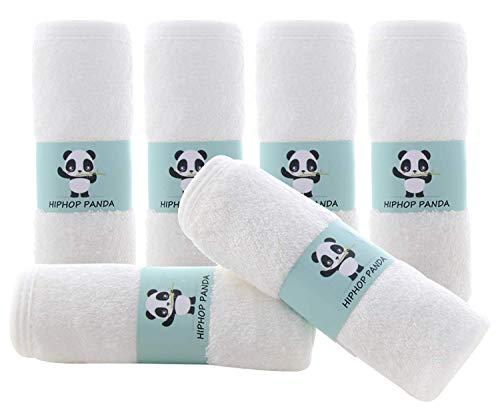 Bamboo Baby Washcloths - 2 Layer Soft Absorbent Bamboo Towel
