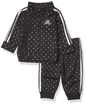 adidas Baby Girls' Li'l Sport Tricot Jacket