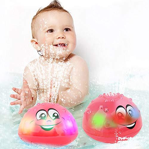 wellvo Baby Bath Toys, LED Light Up Bath Toys