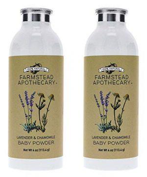 Farmstead Apothecary 100% Natural Baby Powder