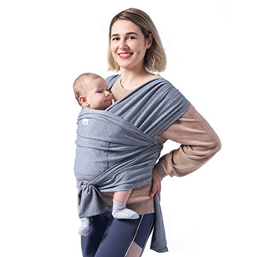 Momcozy Baby Wrap Carrier Slings, Easy to Wear