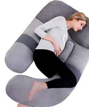 Awesling 60in Full Body Pillow | Nursing, Maternity and Pregnancy Body Pillow