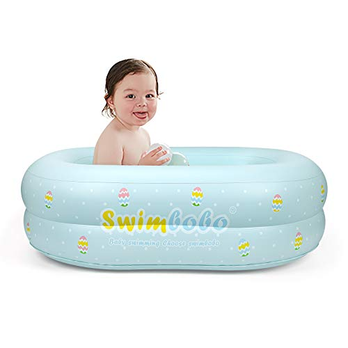Inflatable Baby Bathtub,Helps Newborn to Toddler Tub