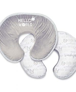 Boppy Luxe Nursing Pillow and Positioner, Hello World