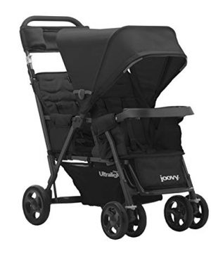 Joovy Caboose Too Ultralight Graphite Stroller, Stand on Tandem
