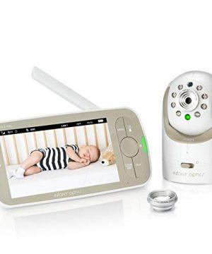 "Infant Optics DXR-8 PRO Baby Monitor 720P 5"" HD Display"