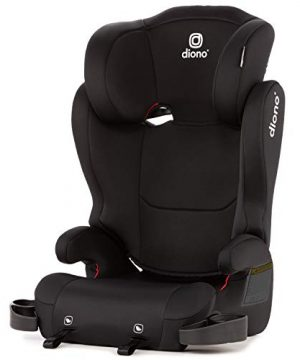 2-in-1 Belt Positioning Booster Seat Safety and Protection