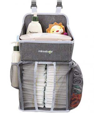 Baby Nursery Organizer and Diaper Caddy Organizer