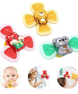 Boonplush Suction Cup Toys, Baby Bath Toys