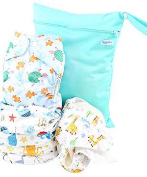 Leekalos Cloth Diapers Reusable for Boys and Girls