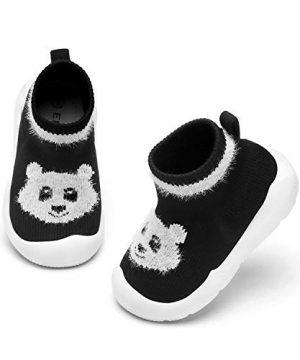 Baby Boy Girls Animal Non-Skid Indoor Slipper Infants