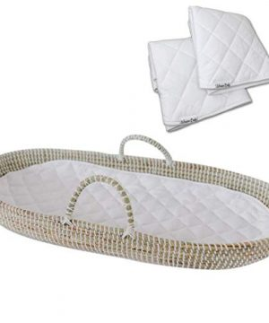 Baby Changing Basket Handmade Seagrass Basket