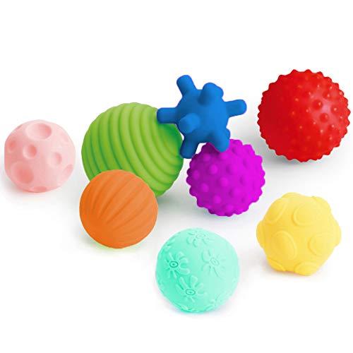 Textured Multi Ball Set, Tactile Sensory Ball