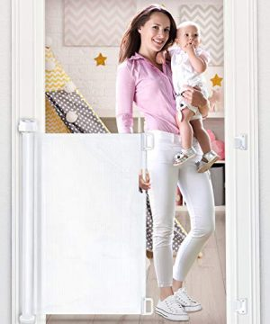 OTTOLIVES Mesh Safety Gate for Babies and Pets