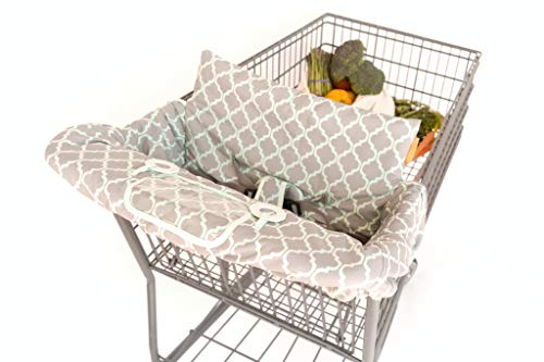 BINXY BABY 2-in-1 Cushy Cart Cover and High Chair Cover