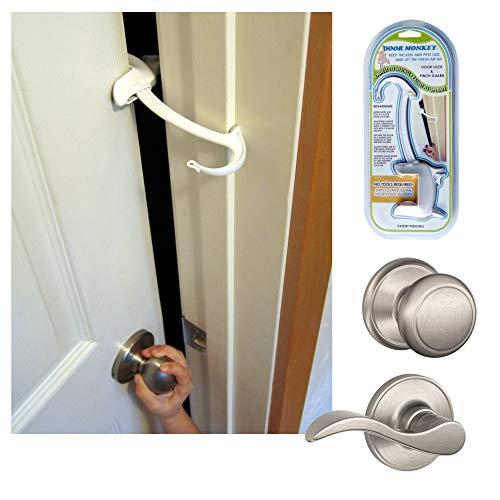 DOOR MONKEY Door Lock, Pinch Guard