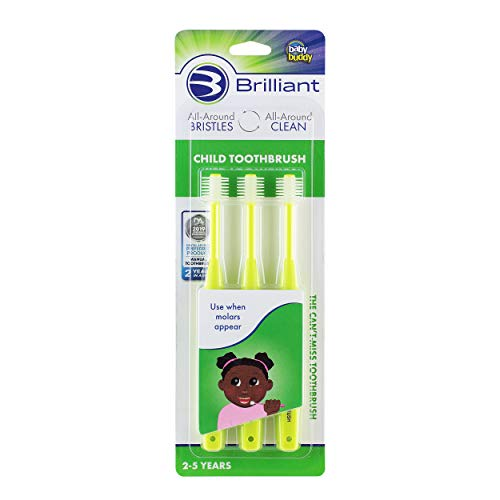 When Molars Appear 2-5 Years Brilliant Child Toothbrush