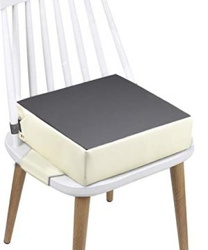 Booster Seat for Dining Table, PU Safer Straps+ Non-Slip