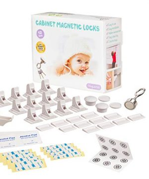 Baby Proofing, Magnetic Cabinet Locks Child Safety 3 Keys