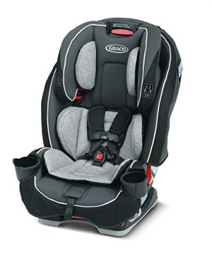 Baby 3 in 1 Car Seat Slim Saves Space in Your Back Seat
