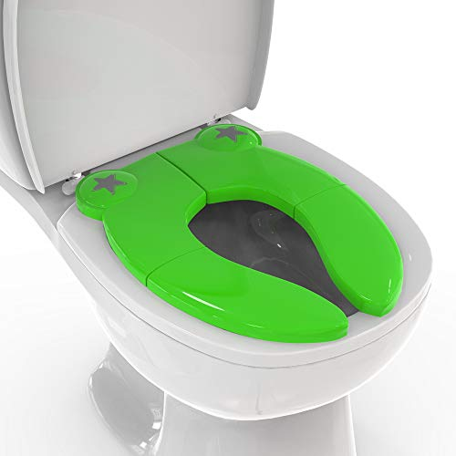 Mighty Clean Baby Folding Travel Potty Seat - Non-Slip