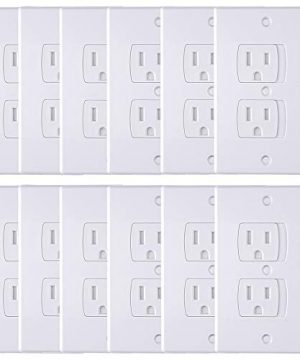 AUSTOR 12 Pack Baby Safety Wall Socket Plugs Electric Covers