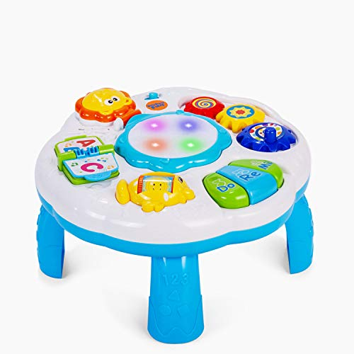 Dahuniu Baby Activity Table Baby Musical Learning Toy