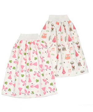 Waterproof Diaper Skirt Shorts for Baby Boys and Girls