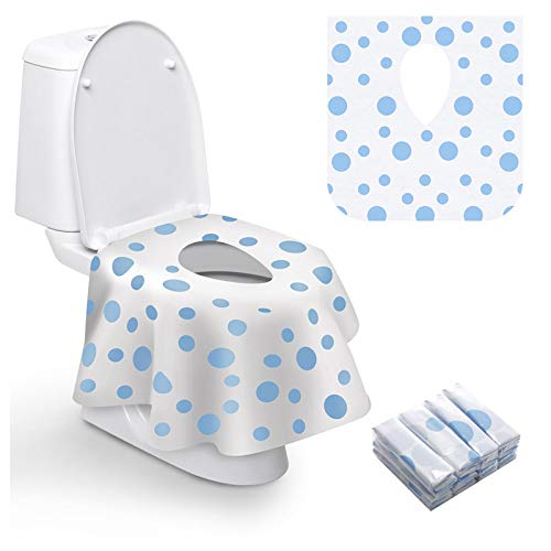 Toilet Seat Covers Disposable, Famard Extra Large Portable