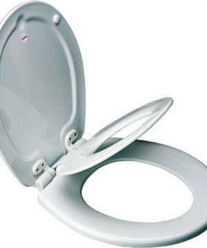 MAYFAIR Toilet Seat with Built-in Potty Training Seat
