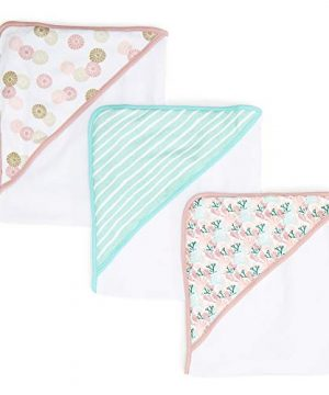 Soft Terry Hooded Towel Set for Newborn Boys and Girls