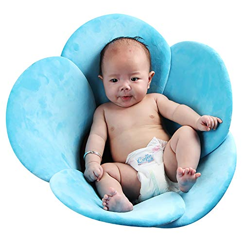 Baby Bathtub, Newborn Baby Foldable Soft Flower