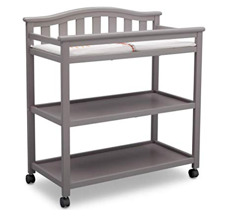Changing Table with Wheels and Changing Pad