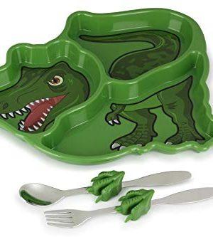 KidsFunwares T-Rex Dinosaur Me Time Meal Set