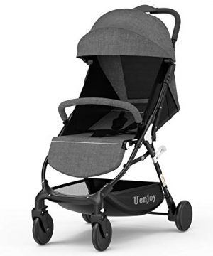 Uenjoy Baby Stroller One-Click Foldable Lightweight Stroller