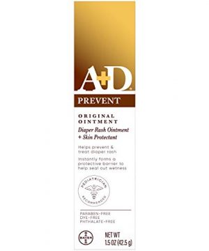 A+D Original Diaper Rash Ointment, Baby Skin Protectant