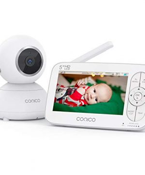 Baby Monitor, Conico Video Baby Monitor with Camera