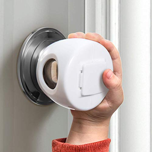 Door Knob Safety Cover for Kids, Child Proof Door Knob Covers