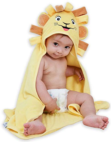 Premium Organic Bamboo Hooded Baby Towel