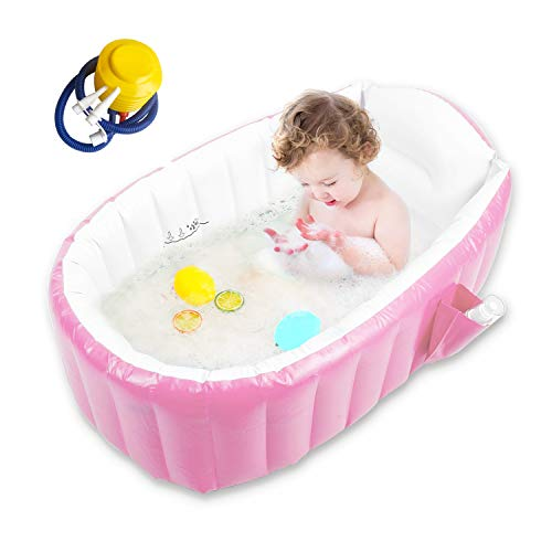 Baby Inflatable Bathtub with Air Pump