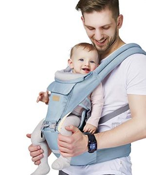 Baby - Carrier, 6-in-1 Baby Carrier with Waist Stool