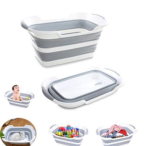 Varybeaty Collapsible Bathtub,Baby tub